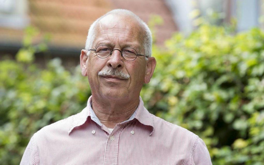 Bas Schelling, voorzitter van de dorpsvereniging in Goudswaard. beeld RD, Anton Dommerholt