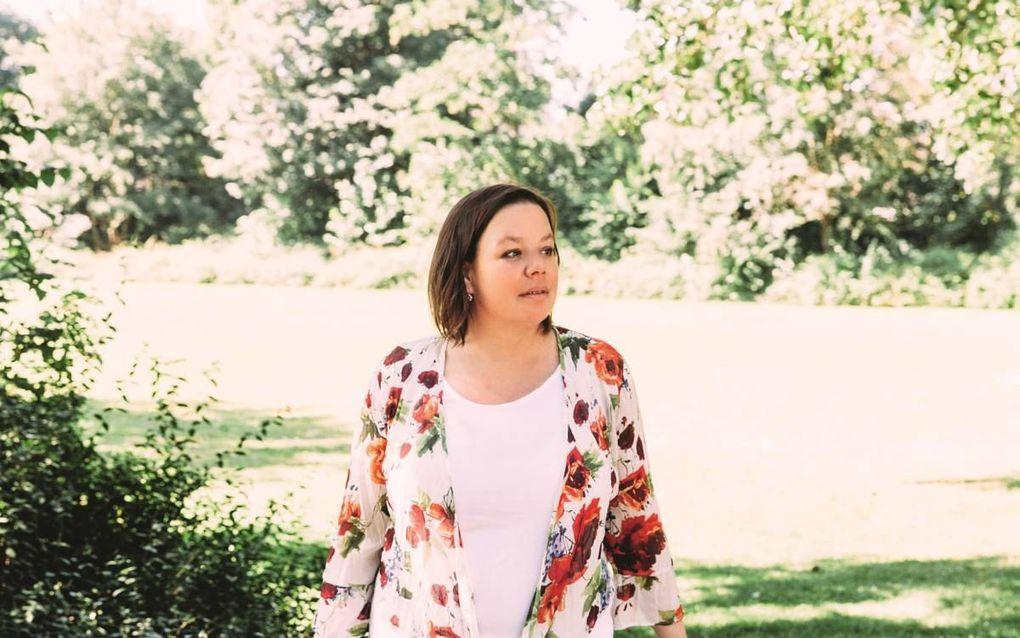Anne Marie van Veen. beeld LEF Magazine, Esmée Franken