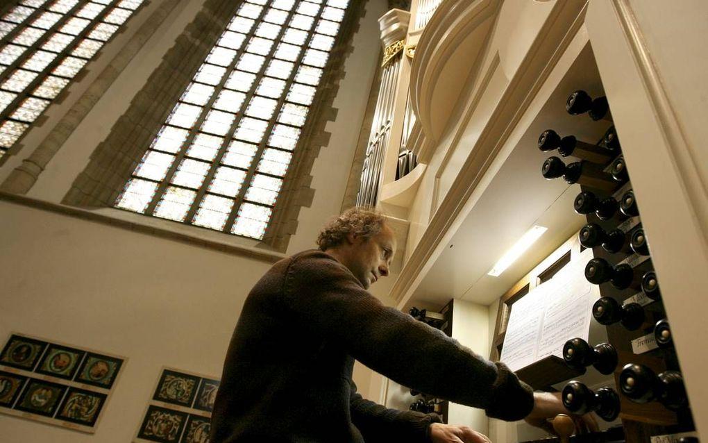 De Dordtse organist Cor Ardesch.            beeld RD, Anton Dommerholt