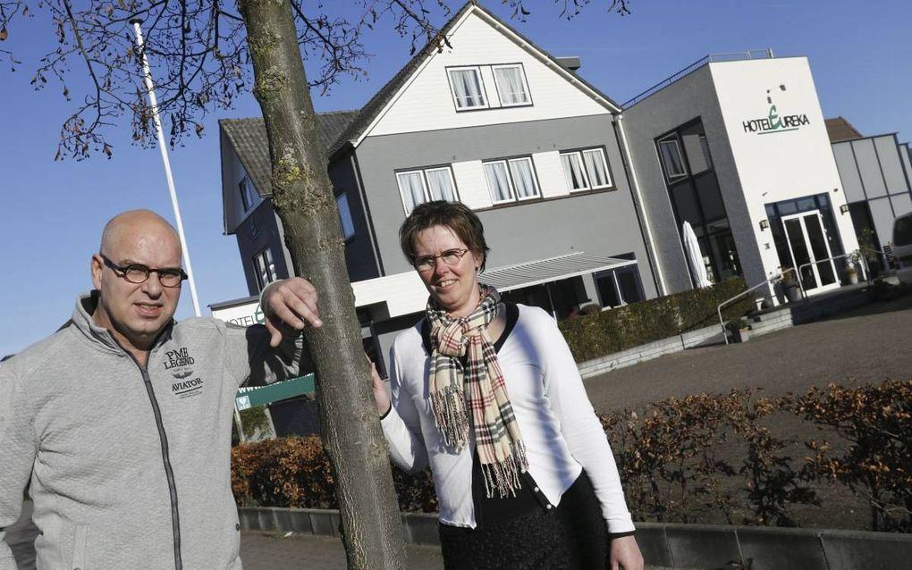 """ZEDDAM. Het """"laatste christelijk hotel"""" in Nederland moet in januari de deuren sluiten. beeld VidiPhoto"""