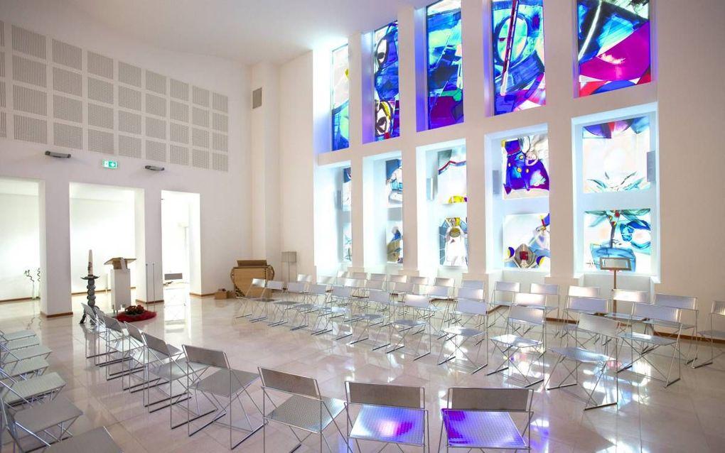 De dienstenorganisatie van de Protestantse Kerk in Nederland is ondergebracht in het dienstencentrum aan de Joseph Haydnlaan in Utrecht. In het hart van het pand bevindt zich de kapel met ramen van de Zweedse kunstenares Ann Wolff. Grote delen van het geb