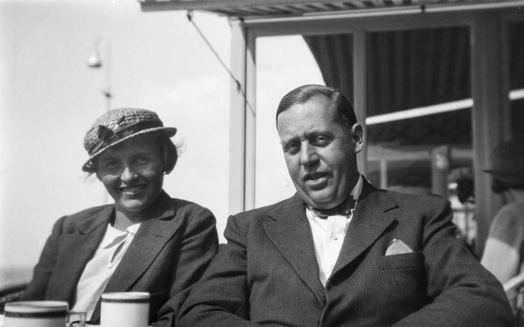 Annemie en Helmuth Wolff, Amsterdam, jaren dertig. Fotograaf onbekend. beeld uit collectie Monica Kaltenschnee