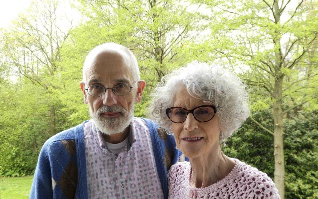 Carla van der Kruijt-Iwema en haar man Ger. beeld Jan van Reenen