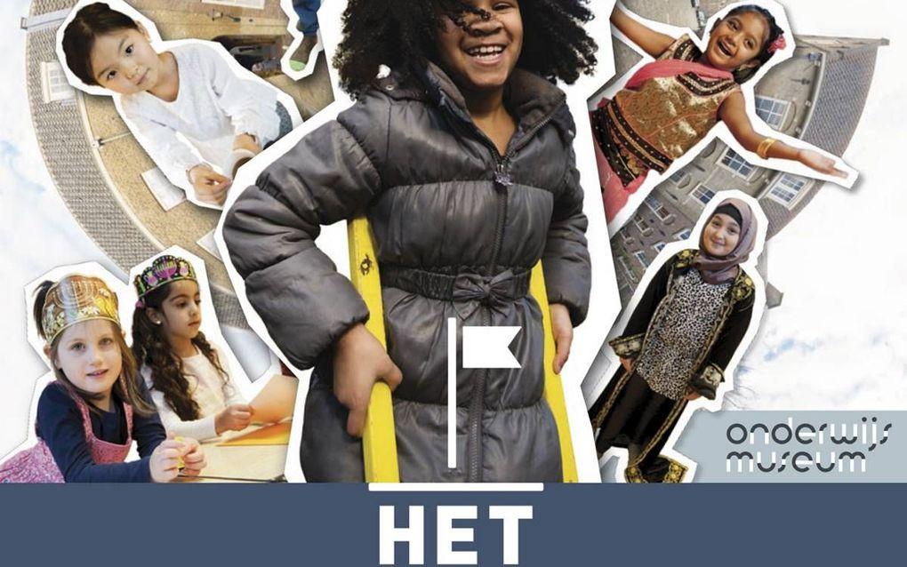 Het Nederlandse onderwijssysteem, vol variatie. In Het Hof van Nederland is tot eind maart een expositie te zien.beeld Hof van Nederland
