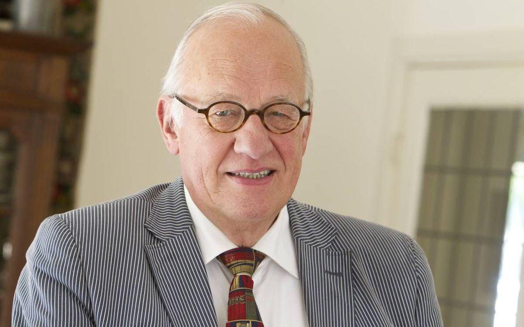 Prof. Ouweneel.  beeld RD, Anton Dommerholt