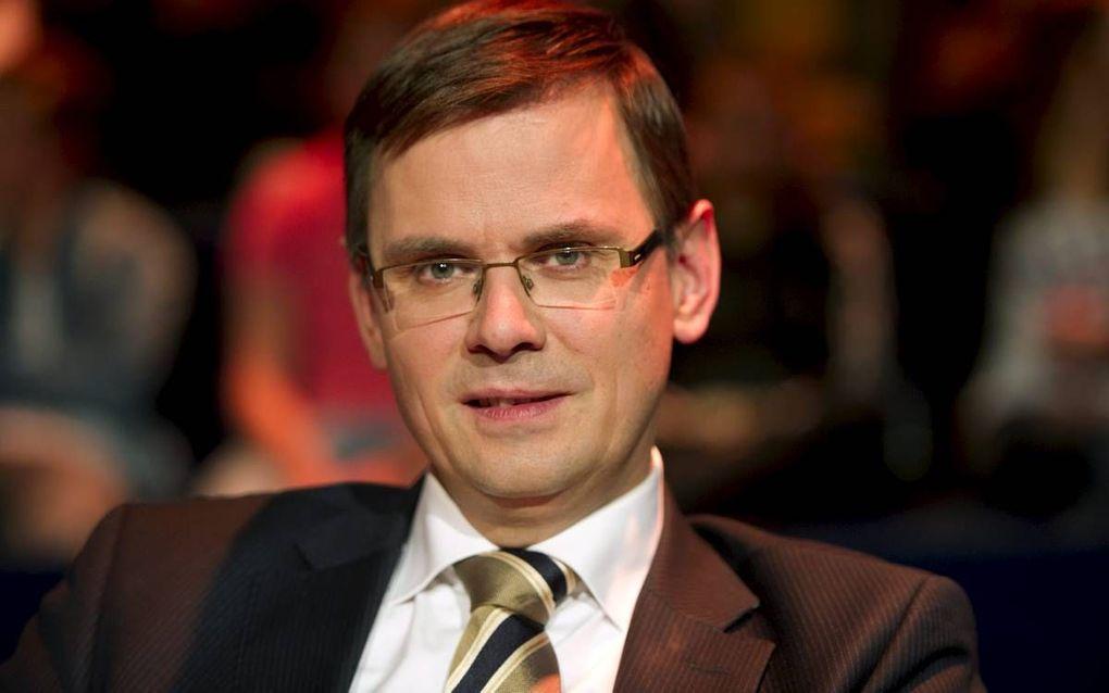 Voormalig CU-politicus Rouvoet, beeld ANP, Freek van Asperen.
