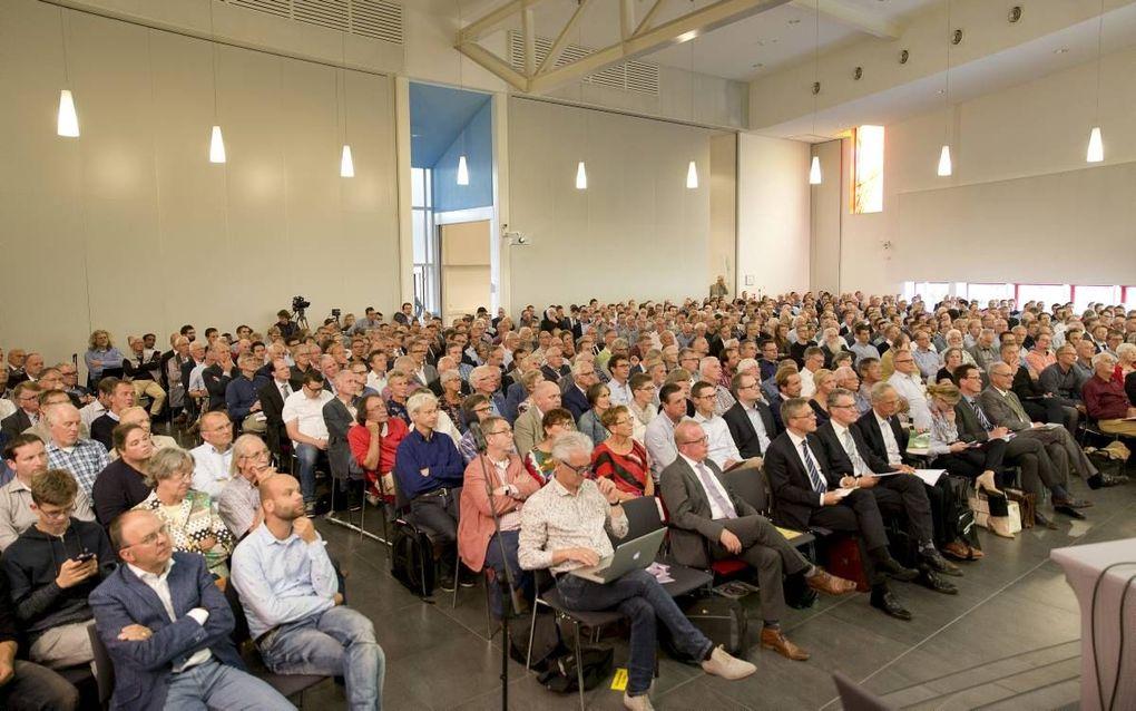 """Congres over """"evolutionaire schepping"""" in Nijkerk. beeld RD, Henk Visscher"""