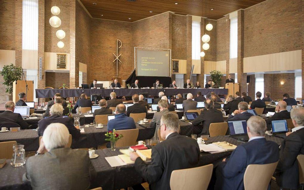 CGK-synode in februari 2017. beeld RD, Henk Visscher