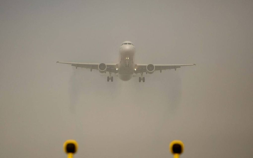 Toerisme is goed voor 90 procent van alle luchtvaartkilometers. beeld ANP, Valerie Kuypers