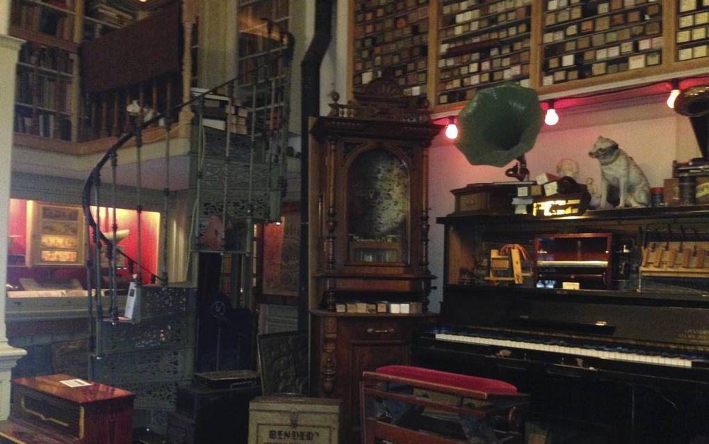 Interieur van het Pianola Museum. beeld Wikipedia