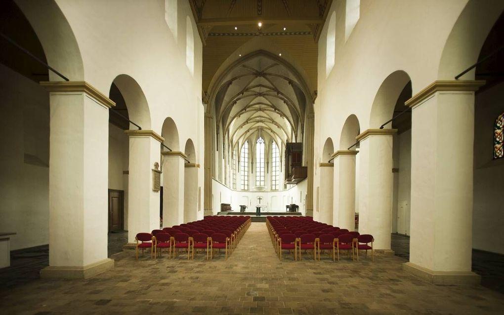 """""""Wanneer we bij het streven naar kerkelijke eenheid de belijdenis niet laten functioneren, dan wordt het met de eenheid niks."""" Foto: Janskerk in Utrecht. beeld RD, Henk Visscher"""