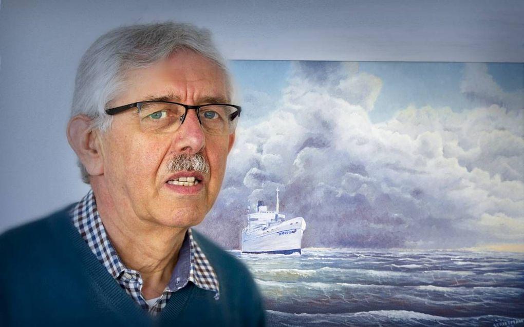 Joop Strietman, oprichter en oud-directeur van zendingsorganisatie Operatie Mobilisatie. beeld RD, Henk Visscher