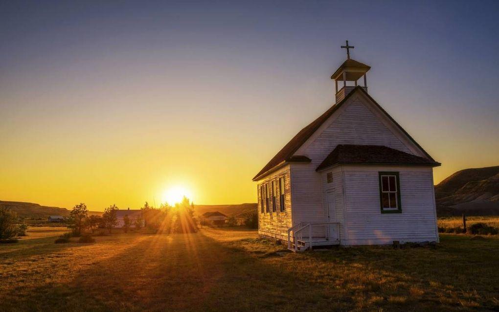 """""""Zoals Christus' kruis nodig was om Zijn kerk te vestigen, zo zijn onze kruisen nodig om Zijn kerk te bouwen."""" beeld iStock"""