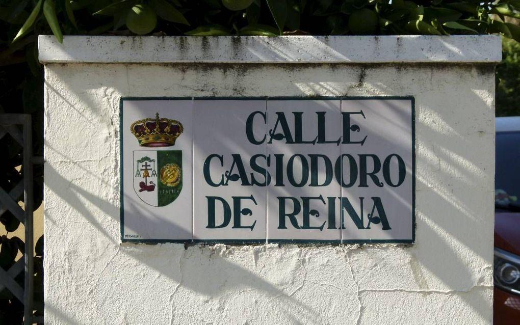 Santiponce vernoemde straten naar Reina (foto) en Valera. beeld RD