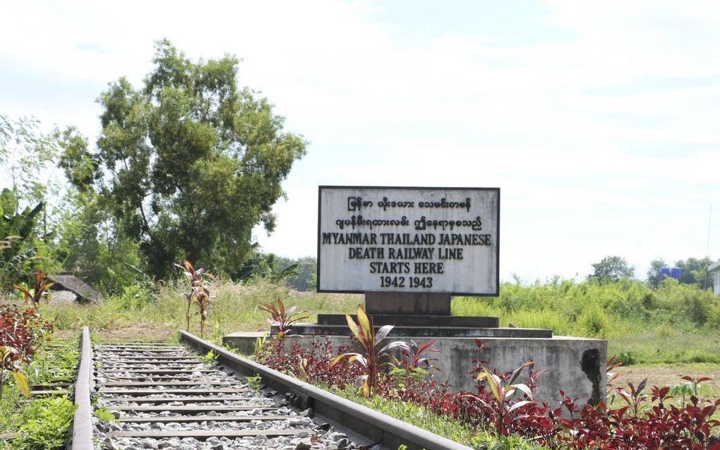 De Birmaspoorlijn, waar Henk Navest te werk gesteld werd.beeld Wikimedia
