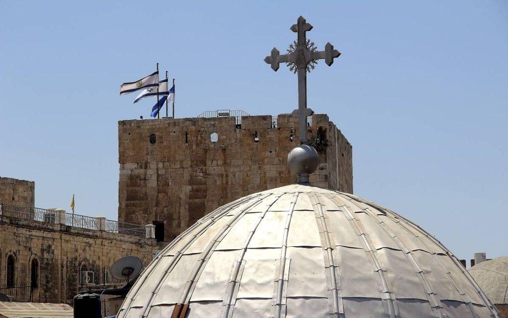Israël is in Gods heilsplan zegenrijk verwerkelijkt door Zijn reddende boodschap in Christus aan de hele wereld. Foto: koepel van een kerk in Jeruzalem. beeld iStock