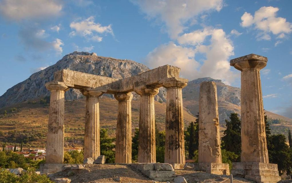 Korinthe stond in de oudheid bekend om zijn seksuele immoraliteit. Maar de heilbrengende genade van Jezus Christus bracht verandering. Foto: ruïne van Apollotempel in Korinthe. Beeld iStock