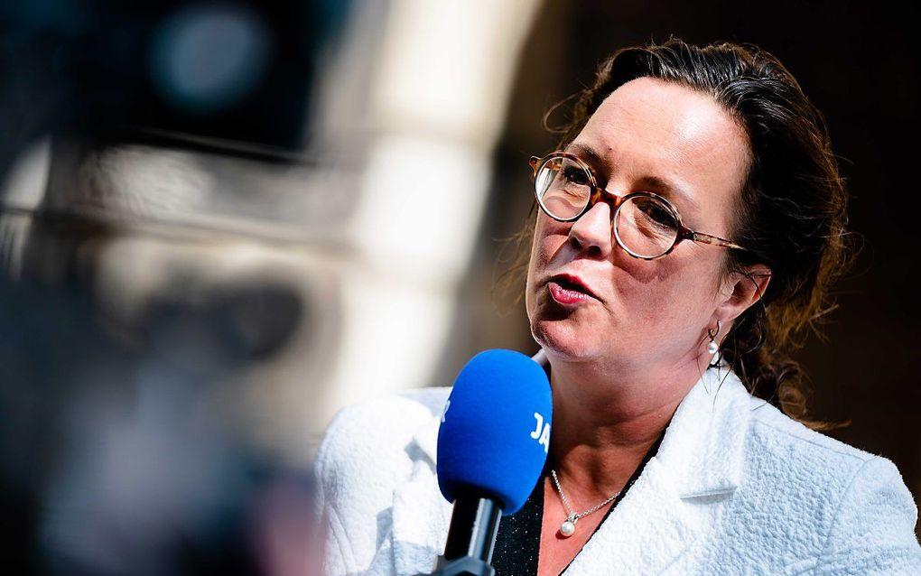 Staatssecretaris Tamara van Ark van Sociale Zaken en Werkgelegenheid (VVD). beeld ANP