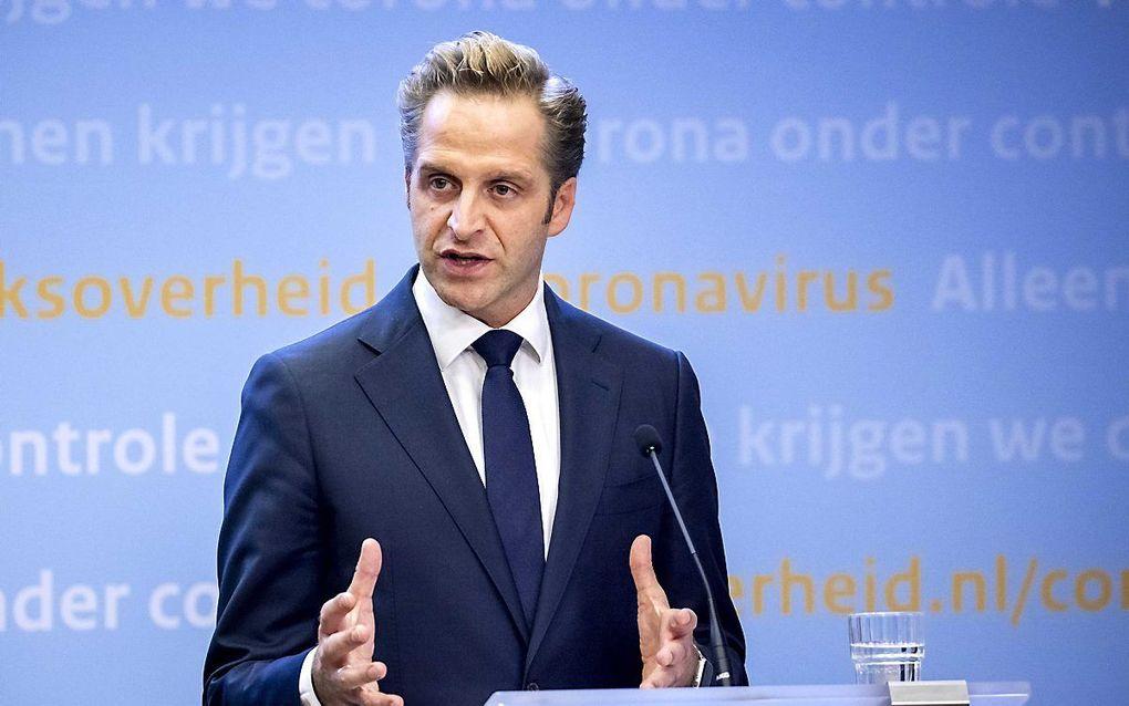 Minister De Jonge. beeld ANP, Remko de Waal