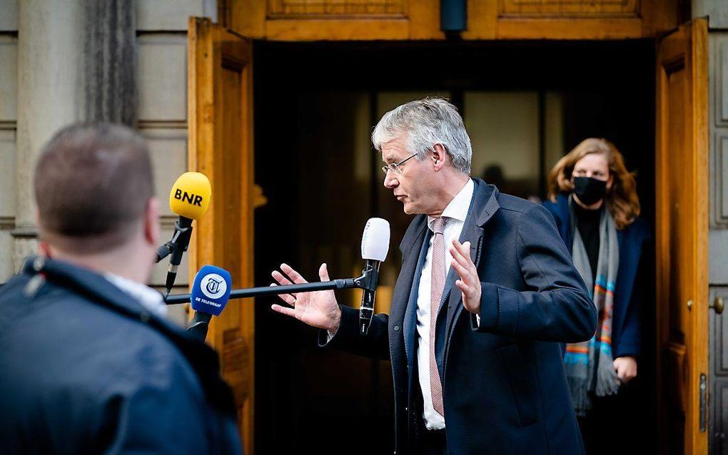 Minister Slob, beeld ANP, Bart Maat