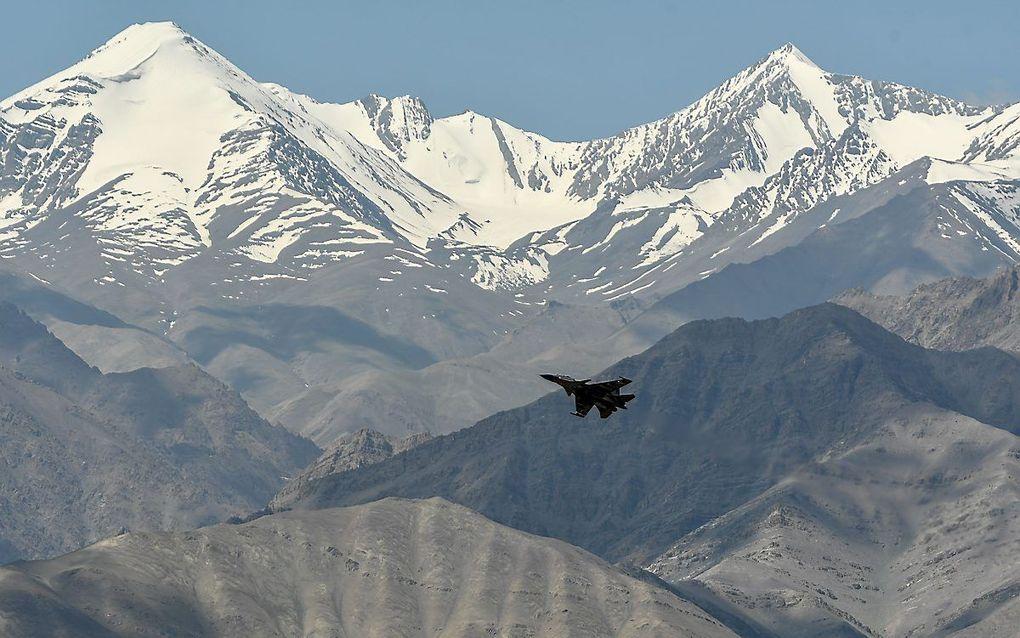 India en China hebben een conflict over hun grens in het noorden van India en het westen van China. beeld AFP