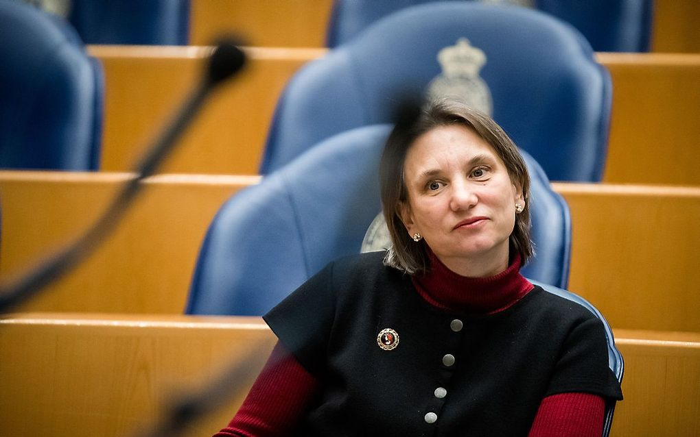 GroenLinks-Kamerlid Bromet. beeld ANP