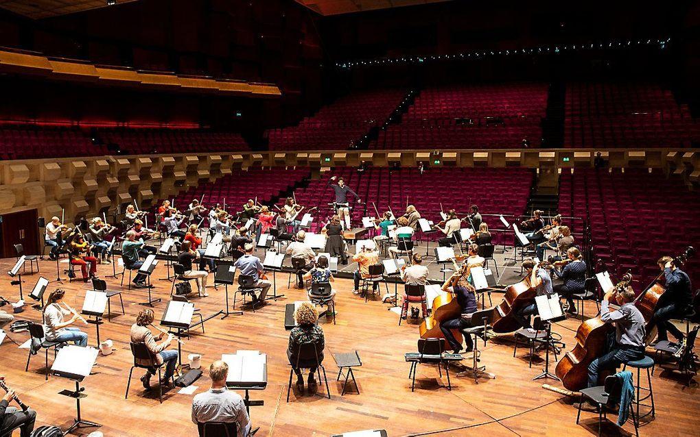 Het Rotterdams Philharmonisch Orkest. beeld ANP, Pieter Stam de Jonge