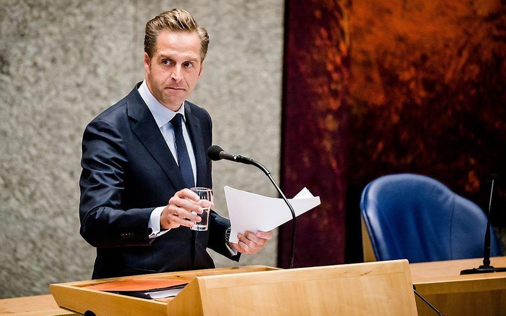 Minister De Jonge. beeld ANP, Bart Maat