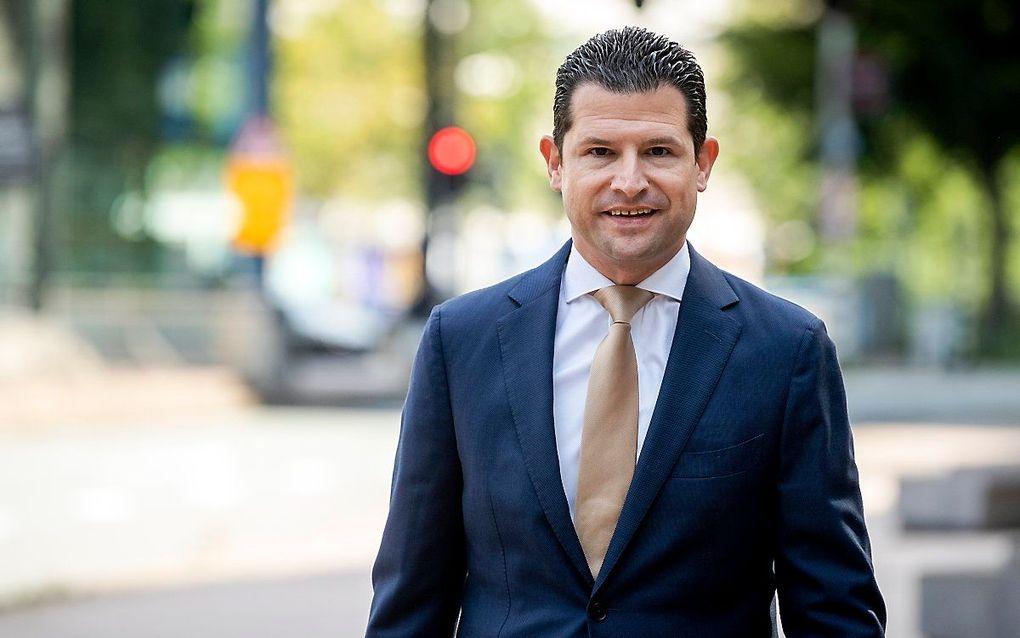 Algemeen directeur Dirk Beljaarts van Koninklijke Horeca Nederland (KHN). beeld ANP SEM VAN DER WAL