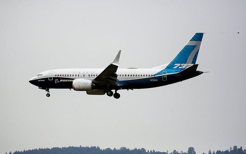 Boeing 737 MAX. beeld AFP, Jason Redmond