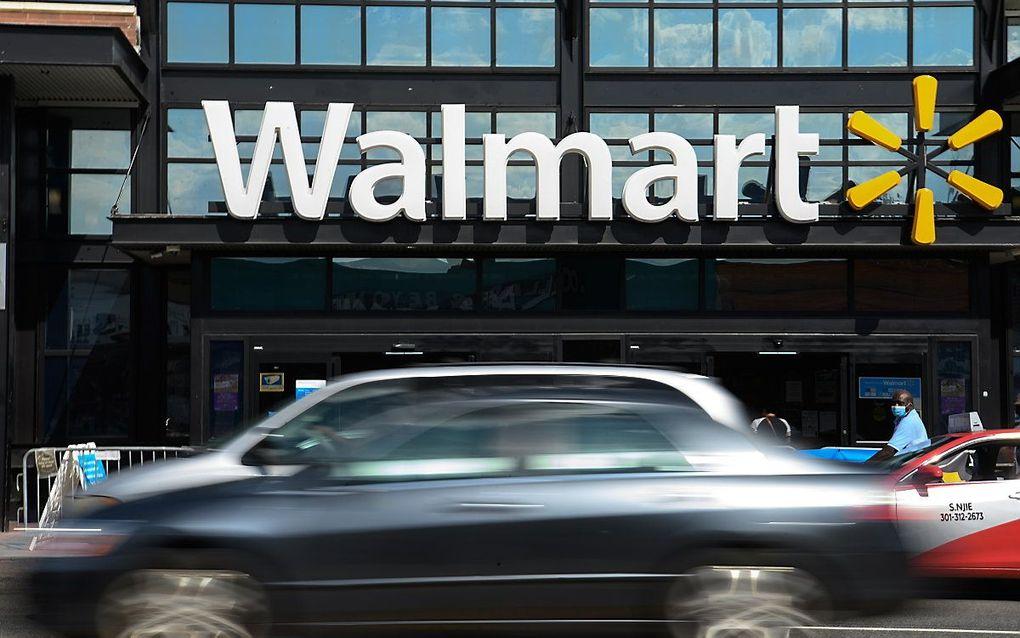 Walmart sluit onrust en plunderingen rond de verkiezingsdag niet uit. beeld AFP, NICHOLAS KAMM