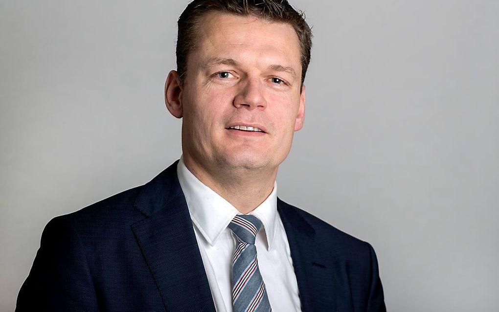 Evert Jan Nieuwenhuis wordt, als het aan de gemeenteraad van Waddinxveen ligt, de nieuwe burgemeester. beeld ANP