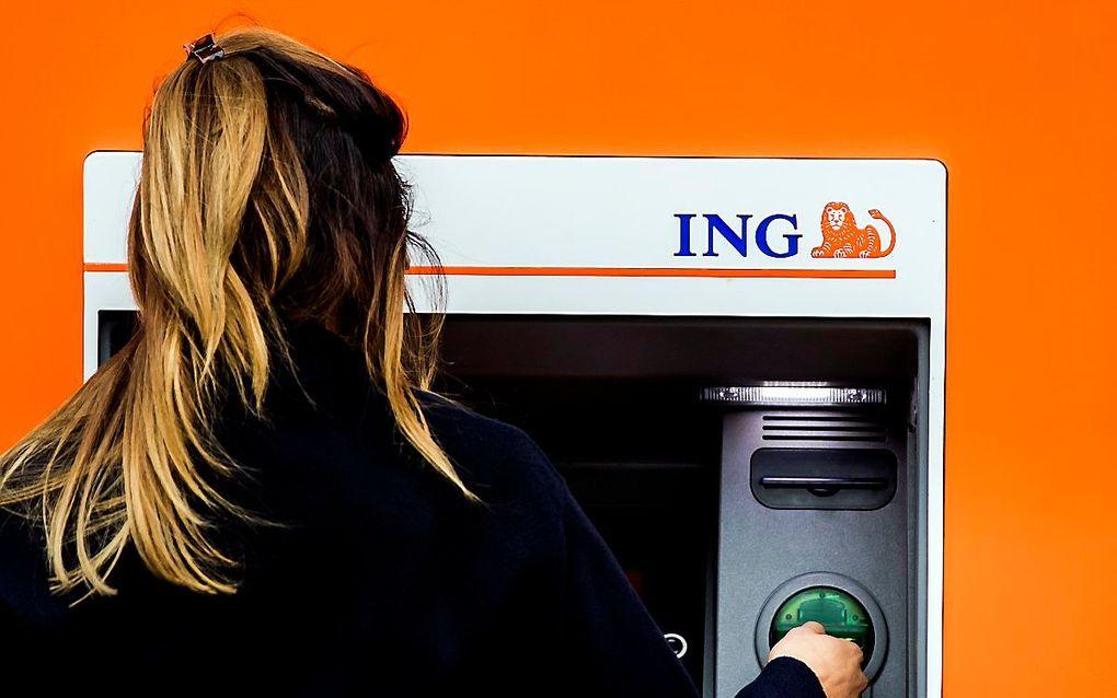 De rapen zijn gaar voor ING. De bank schikt voor 775 miljoen euro –een Nederlands record– met justitie omdat er jarenlang te weinig is gedaan tegen klanten die hun rekening misbruikten.  beeld ANP
