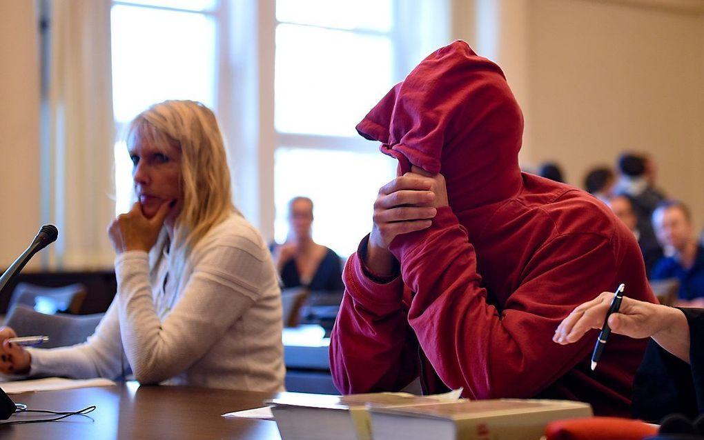 Peike S. voor de rechter. beeld AFP