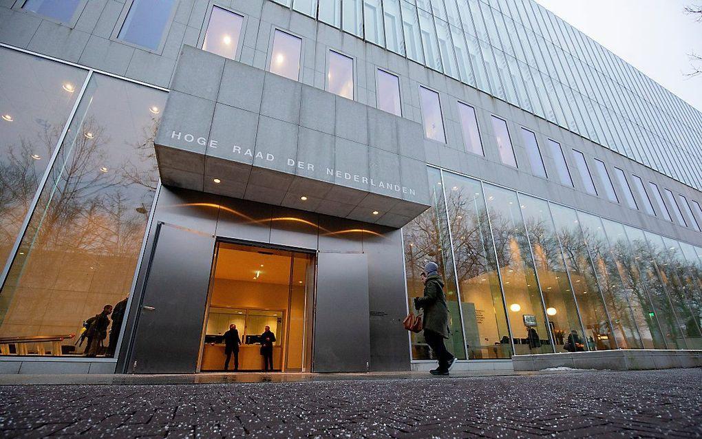 Het gebouw van de Hoge Raad in Den Haag. beeld ANP, Niels Wenstedt