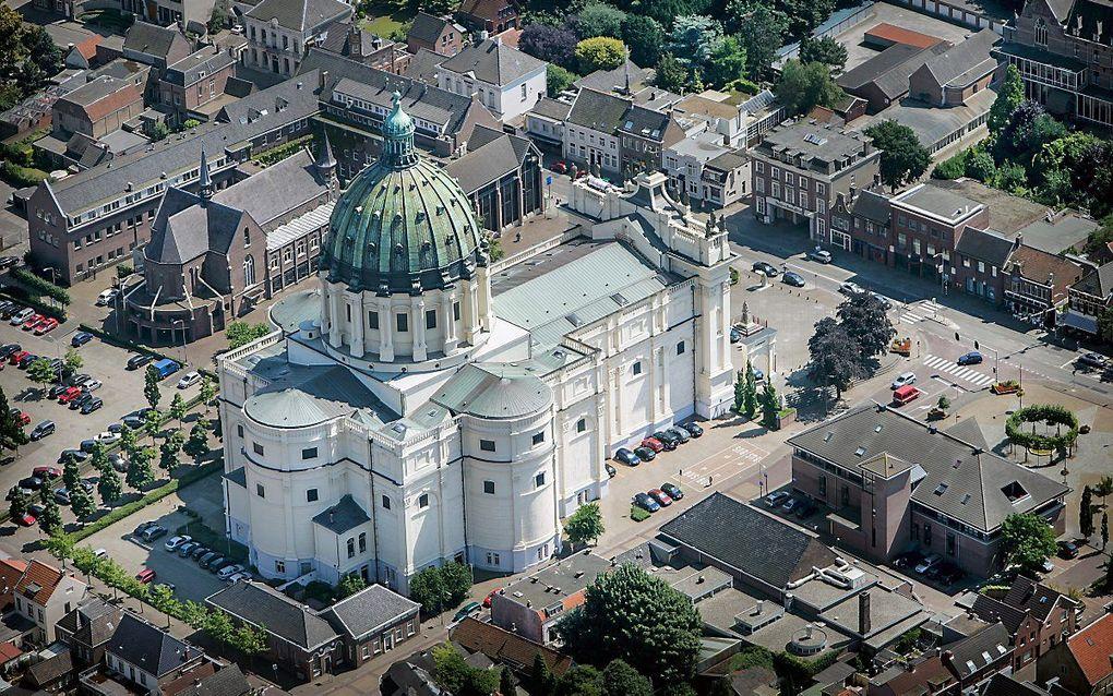 De basiliek van de heiligen Agatha en Barbara  te Oudenbosch. beeld RD, Henk Visscher