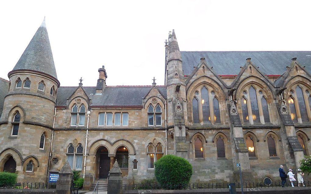 Het kerkgebouw van de Free Presbyterian Church of Scotland in Glasgow. beeld RD