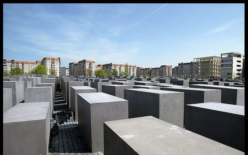 Holocaustmonument Berlijn. beeld: RD