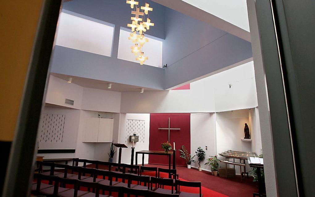 Stiltecentrum in het Godebaldkwartier van Hoog Catharijne in Utrecht. beeld Anton Dommerholt