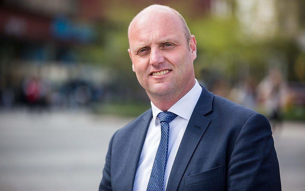 Jurjen de Groot, directeur van de Dienstenorganisatie van de Protestantse Kerk in Nederland. beeld Xander de Rooij