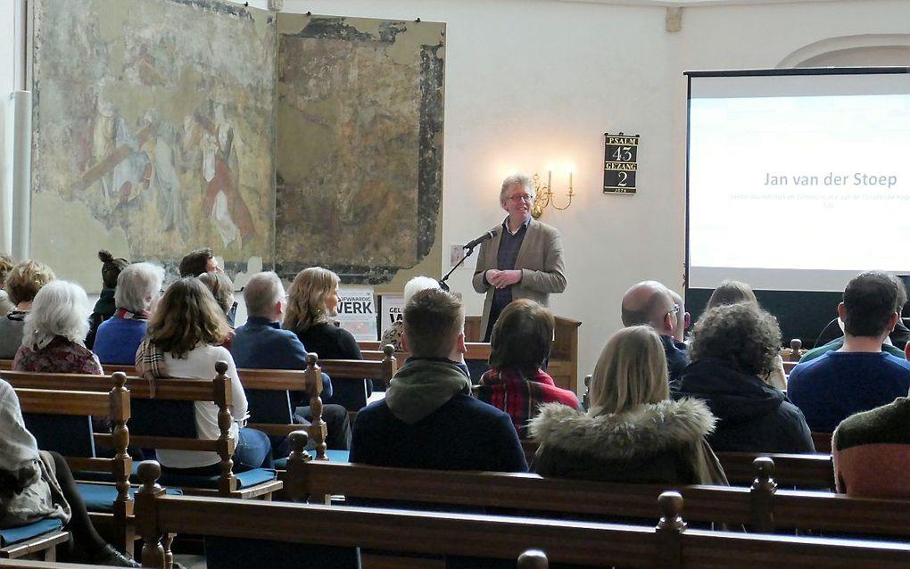 Dr. Jan van der Stoep. beeld RD
