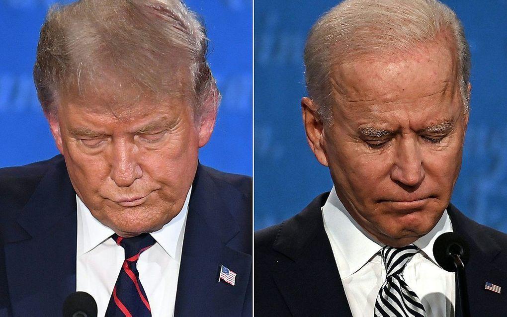 Trump en Biden. beeld AFP