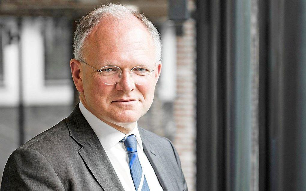 Prof. dr. H. J. Selderhuis. beeld TUA