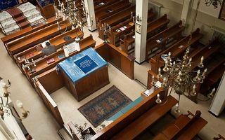 Een synagoge in Antwerpen. beeld RD, Henk Visscher