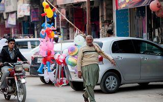 Straatbeeld in Islamabad, de hoofdstad van Pakistan. beeld ANP, Robin Utrecht