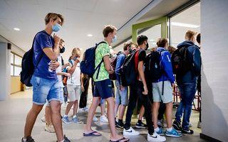 Leerlingen van een school in Haarlem. beeld ANP, Robin van Lonkhuijsen