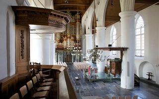 De Jacobijnerkerk in Leeuwarden. beeld Sjaak Verboom