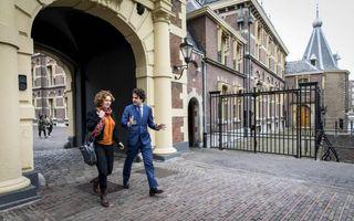 Kathalijne Buitenweg en Jesse Klaver. Beeld ANP