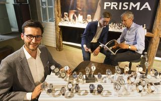 George van Ekeren (links) is Brandmanager bij Prisma Horloges. beeld RD, Anton Dommerholt