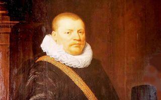 Hugo Muys van Holy. Schilderij in Huys ten Donck te Ridderkerk. beeld Herman A. van Duinen.